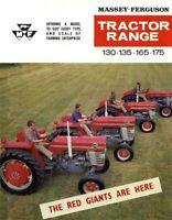 Vintage Massey Ferguson 130 135 165 175 Tractor Poster Brochure Print RARE (A3)!