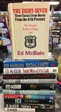 Lot Of 11 Ed McBain Book Club Edition Hardcovers