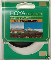 Genuine Hoya 77mm Circular Polarizing Filter CPL For Nikon Canon  New In UK