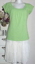 ESPRIT Bluse Longshirt Shirt XXL 44 Jersey green grün Tunika essentials