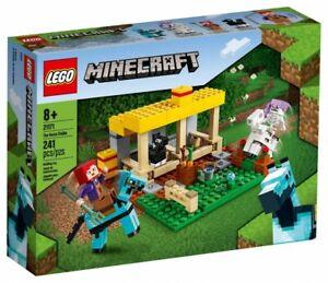 LEGO MINECRAFT 21171 The Horse Stable Building Set 241 Pcs