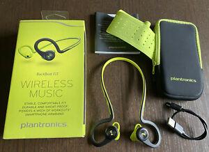 Plantronics BackBeat FIT Lime Green Wireless Bluetooth Earphone In-Ear