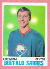 1970-71 70-71 O-PEE-CHEE OPC #126 Skip Krake SET BREAK
