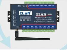 ZLAN6844 Modbus RS485 Wifi Ethernet RJ45 8 Channel DI AI DO I/O Module RTU Board