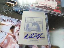 Riddick Bowe 1/1 autograph PRINT PLATE auto LEAF 2012 Legends of Sport signed SP