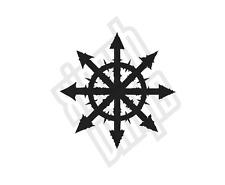 Estrella del caos Pegatina de Vinilo Calcomanía Signo De Coche De La Novedad Ventana (optiona) otros Colores