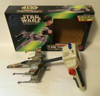 Vintage Star Wars Power of The Force Electronic X-Wing Flight Simulator w/ Box