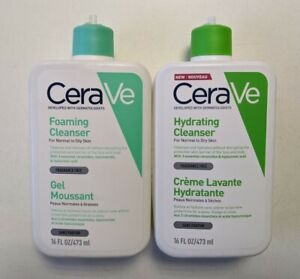 CeraVe Foaming Facial & Hydrating Cleanser both missing pump cap...