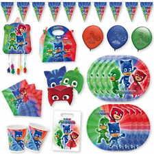 Fiestas Infantiles de PJ Mask para Cumpleaños Niños Decoracion Héroes en Pijama