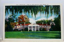 Virginia VA Orange James Madison Home Montpelier Postcard Old Vintage Card View