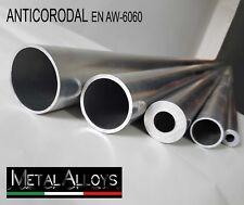 Tubo Tondo Alluminio da Ø 15 18 20 22 mm IN DIVERSE LUNGHEZZE E SP. ANTICORODAL