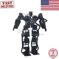17DOF Biped Robotic Educational Robot Humanoid Robot Kit Servo Bracket Ball Toy