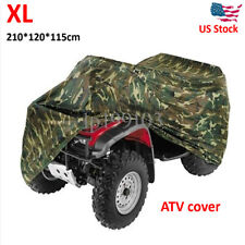 XL Camouflage Waterproof ATV Quad Bike Cover For Honda Rancher TRX350 400 420 FE