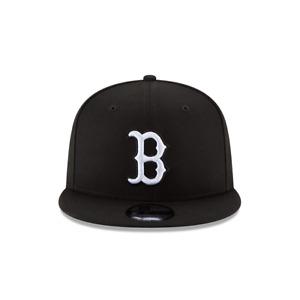 Men's New Era 9Fifty Black/White MLB Boston Red Sox Basic Snapback (11591077)