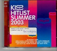 (FH605) Kiss Hitlist Summer 2003, 2CD - 2003 CD