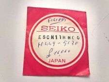RARE SEIKO SAPPHIRE GLASS ESCN 11hn00 for h449-5130 and other - 100% Genuine