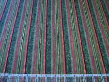3 Yards Quilt Cotton Flannel Fabric- Benartex Halvorsen Holiday Flannel Stripe G