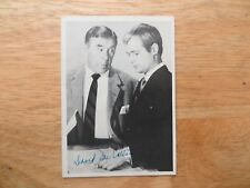 1966 TOPPS MAN FROM UNCLE TV SHOW GUM CARD 19, DAVID MACALLUM & LEO G. CARROLL