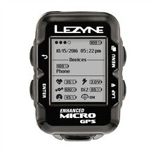 Lezyne Micro Navigate GPS Loaded Bundle Bike Computer Heart Rate, Speed, Cadence