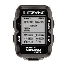 Lezyne caricati GPS Navigazione Micro Bundle BIKE COMPUTER frequenza cardiaca, velocità, cadenza