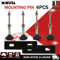 X-BULL Recovery tracks Mounting Pin Set Fixing Pins 4WD 4x4 4PCS 4 Pack Black
