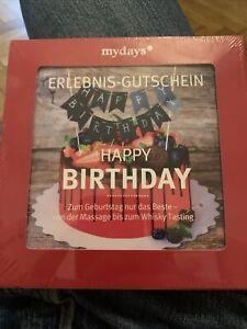 mydays Geschenk zum Geburtstag , Erlebnis-Gutschein, Geschenkidee Mann Frau