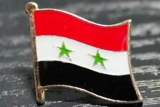 SYRIA Syrian Metal Flag Lapel Pin Badge *NEW*