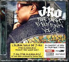 J-RO - RARE EARTH B-BOY FUNK VOL.2 - CD ALBUM NEUF ET SOUS CELLO