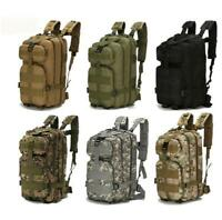 Military Backpack Tactical Waterproof Rucksacks Army Outdoor Sports Camping Hiki