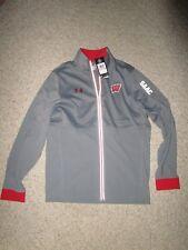 Under Armour Men Full Zip Loose Lightweight Jacket Wisconsin Badgers Size Sm NWT