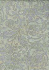 Styalized Damask Scroll Look Wallpaper in Lavender & Green  TL1156
