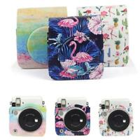 For Fujifilm Instax mini70 mini90 Instant Camera Case PU Leather Strap Bag Cover