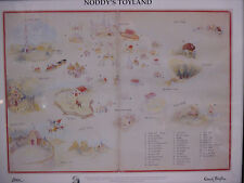 Harmsen Van Der Beek Limited Edition Print Noddy's Toy Land Enid Blyton Society