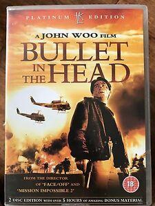 Bullet in the Head DVD 1990 Vietnam War Classic 2-Disc HKL DVD Platinum Edition