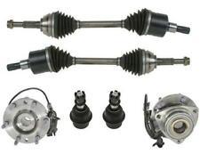 AP New Front Axles Wheel Hubs Ball Joints for Chevrolet Trailblazer 2002-07