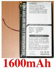 Battery 1600mAh type PCF345385A For Samsung Napster MP3 player