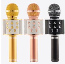 2600mah Handheld Karaoke Mic Wireless Microphone Bluetooth USB Speaker Player KT