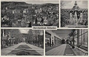Carte Postale Silésie Herzheilbad Altheide 1936
