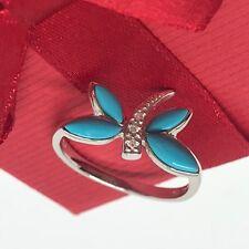 Dragon-Fly Right Hand Ring 14K Fine Gold Designer Style