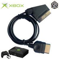 SCART Cable AV HD TV Lead For Microsoft Xbox Original Classic 1.8m