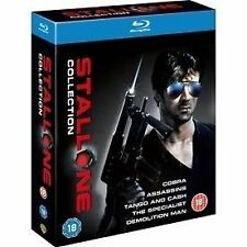 Sylvester Stallone Collection 5051892119511 Blu Ray Region B
