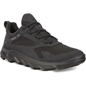 Ecco Shoes MX GTX Mens Black Waterproof Trainers Shoes Size 8-11.5