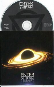 ENTER SHIKARI REDSHIFT 2 TRACK UK PROMO CD