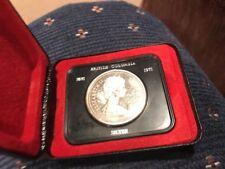 BRITISH COLUMBIA 1871-1971 SILVER DOLLAR COIN ELIZABETH 11 CANADA BRAND NEW UNC.