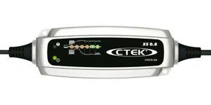 CTEK XS 0.8 12V Set Chargeur de Batterie et Accessoires