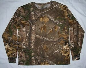 NWOT Men's RANGER Realtree Camo Long Sleeve Tee Shirt Size 2X  XXL 2XL