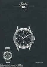Prospekt Jubilar Chronosport 21.50-04 H. Sinn 2002 Uhrenprospekt Chronograph Uhr