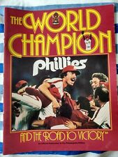 1980 World Champion Phillies & The Road To Victory- Commemorative magazine