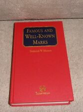 Mostert : Famous and Well-Known Marks by Frederick Mostert 1997 INSCRIBED
