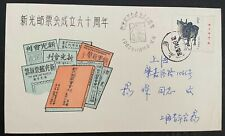 China 1985 XinGuang Stamp Association 60 years Anniversary Commemorative Cover